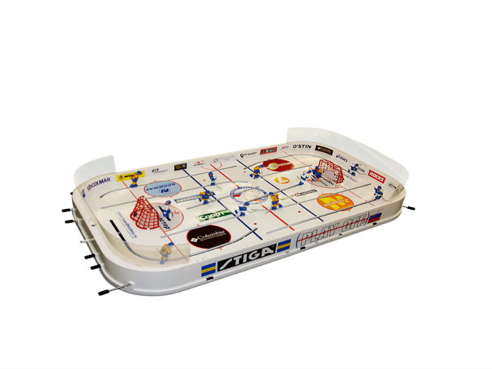 Stiga jeu de hockey sur table play off for Jeu des tables