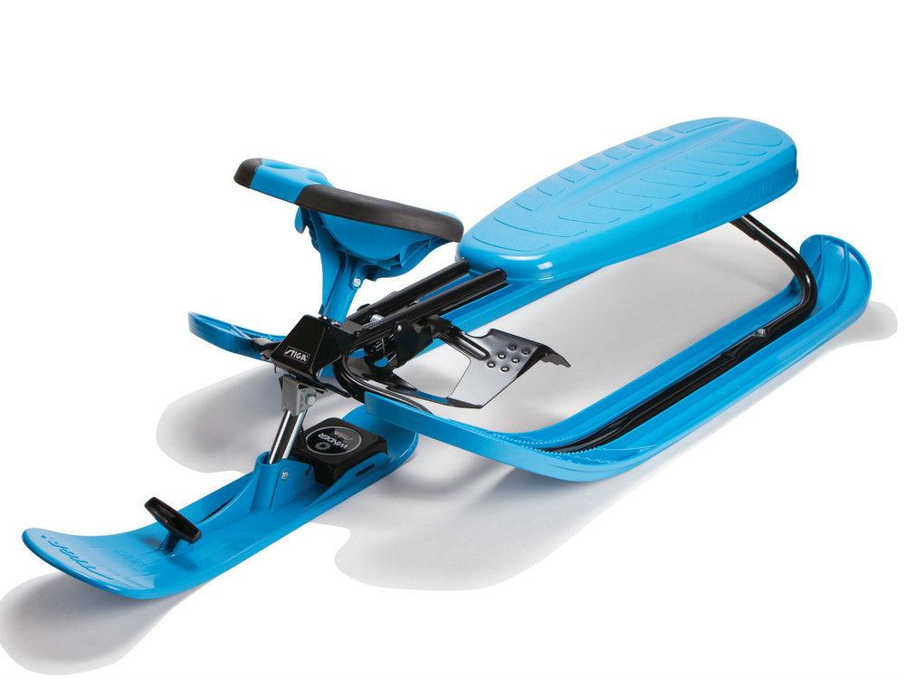 stiga luge snow racer color pro blue. Black Bedroom Furniture Sets. Home Design Ideas